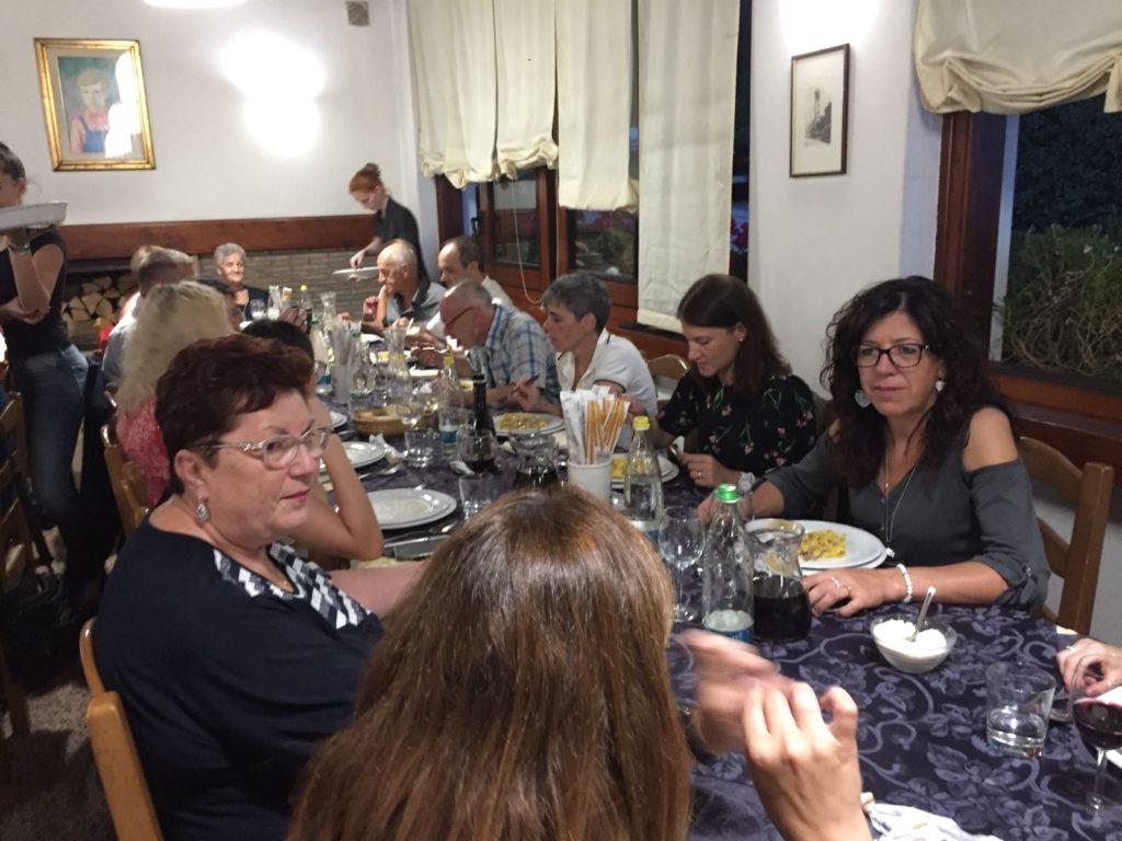 Cena estiva di Sezione 2018