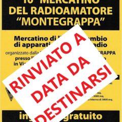 RINVIATO il Mercatino Montegrappa 2020