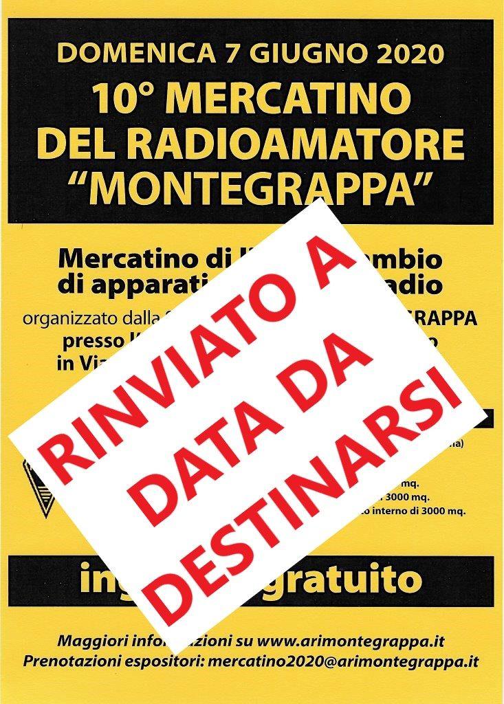 Mercatino Monte Grappa 2020  RINVIATO A DATA DA DESTINARSI