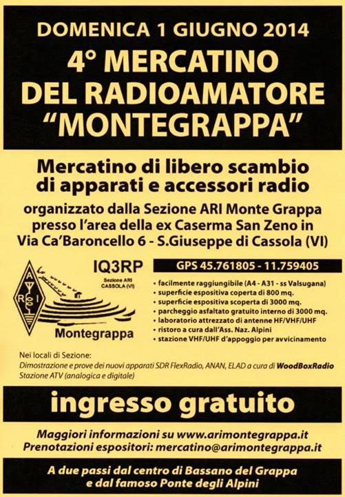 Volantino Mercatino 2014
